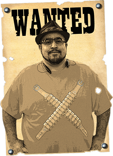 tech bandito - profile wanted poster - raul